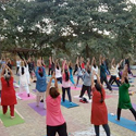 Yoga At Aarey